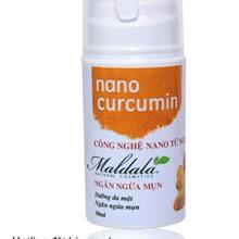Kem ngăn ngừa giảm mụn Nano Curmin Maldala