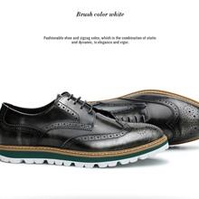 Giày oxford nam phong cách vintage nhãn hiệu Blaihilton cao cấp sd4120