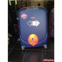 Bộ vali nhựa kéo 360 độ 3 size nhiều màu bền đẹp