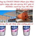 Mua sơn lót epoxy KCC chống rỉ cho kèo thép nhà xưởng giá rẻ