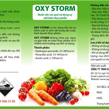 OXY STORM (PERACETIC ACID 15%)
